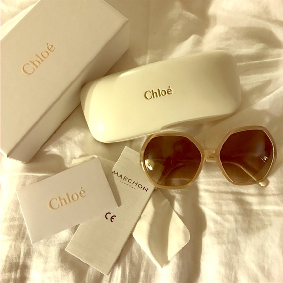 6cb2e346979 Chloe Accessories - Authentic CHLOE turtledove sunglasses